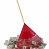 raking in a bunch of money snub