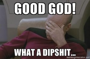 captain picard's frustration with a dipshit