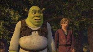 shrek & arthur of worcestershire in shrek 3