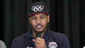 carmelo anthony talks about michael jordan speaking out