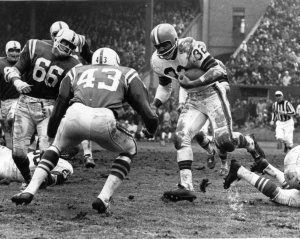 jim brown in the 1964 nfl championship game