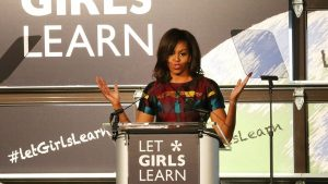 michelle obama letgirlslearn