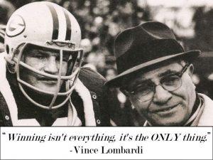 lombardi winning isn't everything