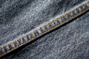 a denim seam