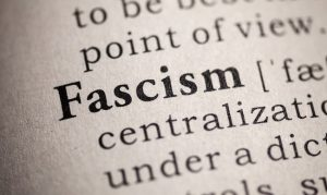 fascism definition in an old school dictionary