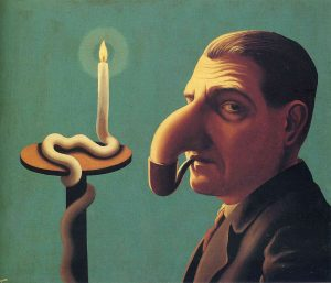 the philosopher's lamp by rene magritte