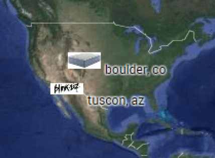 boulder colorado & tucson arizona