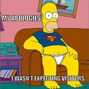 homer apologizing