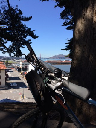 Biking to Golden Gate