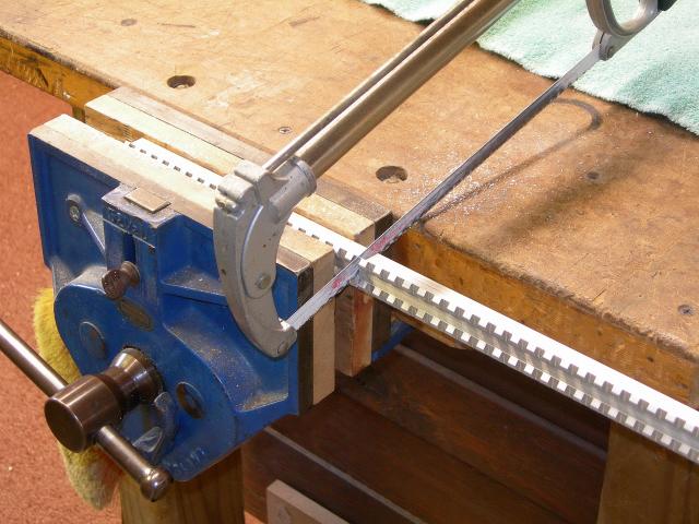 Cutting Rail