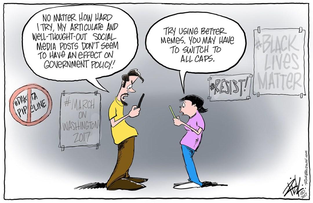 Social Media Resistance