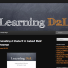 Learning D2L