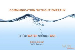 WCW, CommunicationWithoutEmpathy