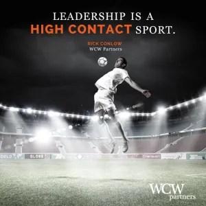 WCW, LeadershipHighContactSport