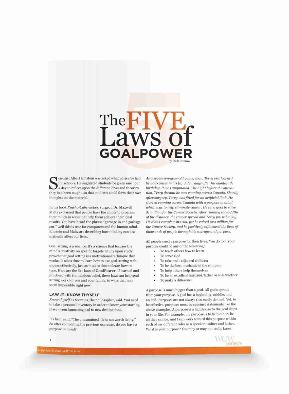 fivelawsofgoalpower