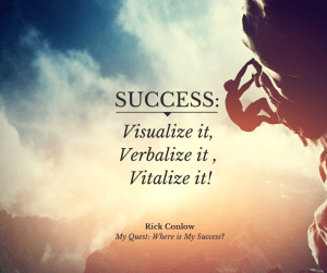 Winning: Visualize, Verbalize, Vitalize Your Success