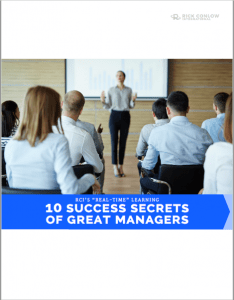 Rick Conlow 10 Success Secrets of Great Managers