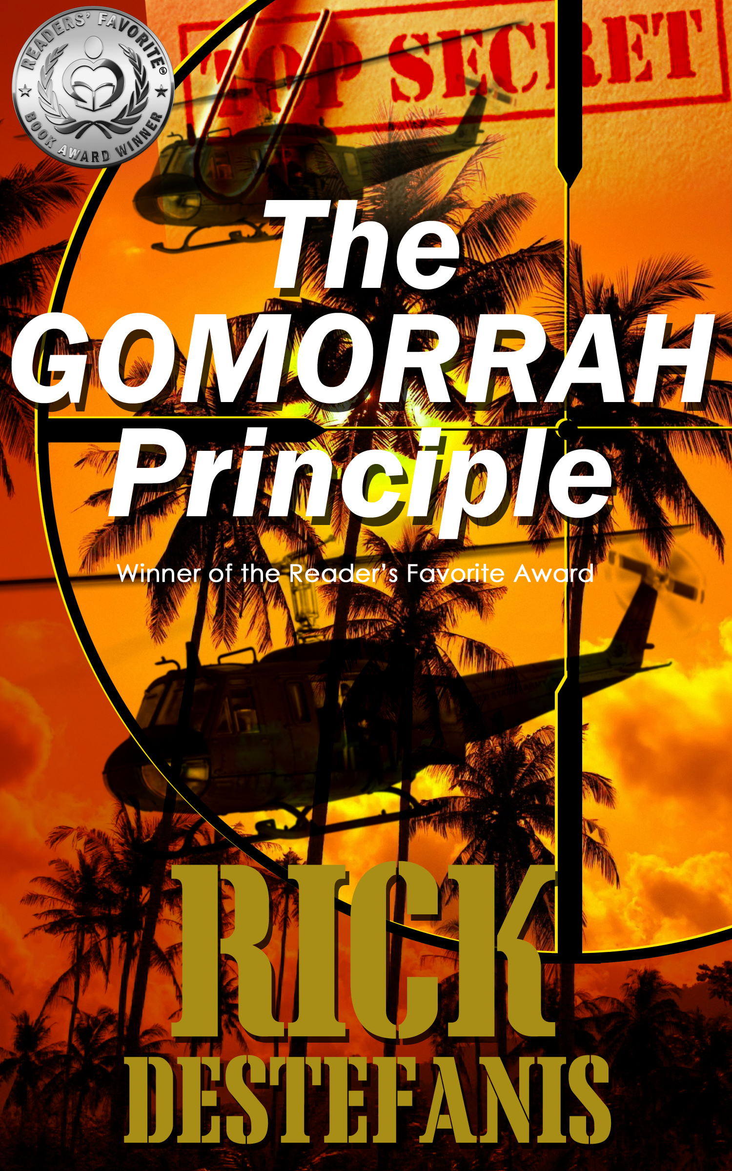 The Gomorrah Principle by Rick DeStefanis book cover image.