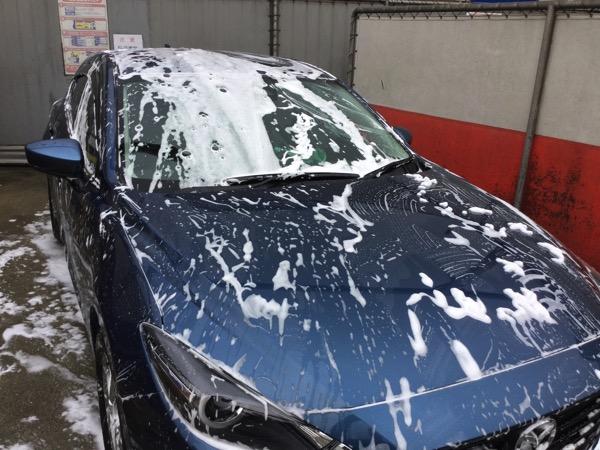 中野島の多摩川沿いにあるセルフ洗車場で1000円の超撥水洗車コースをやってみた!