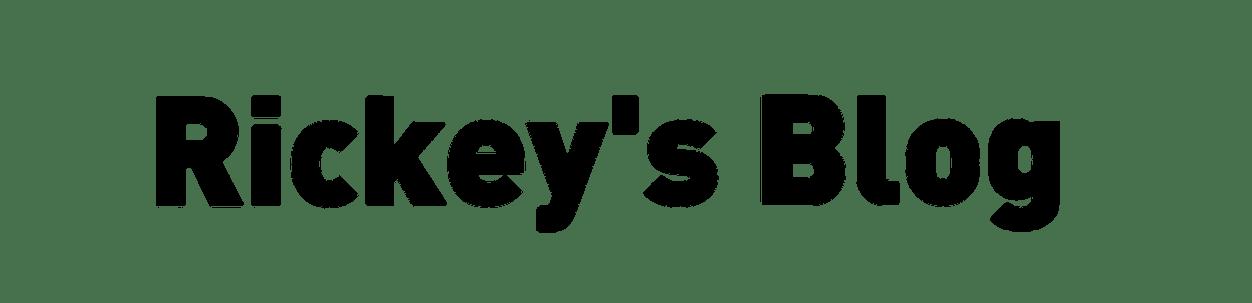 Rickey's Blog