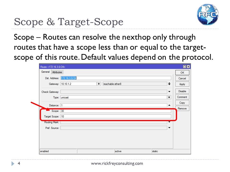 Recursive Next Hop Resolving (4)