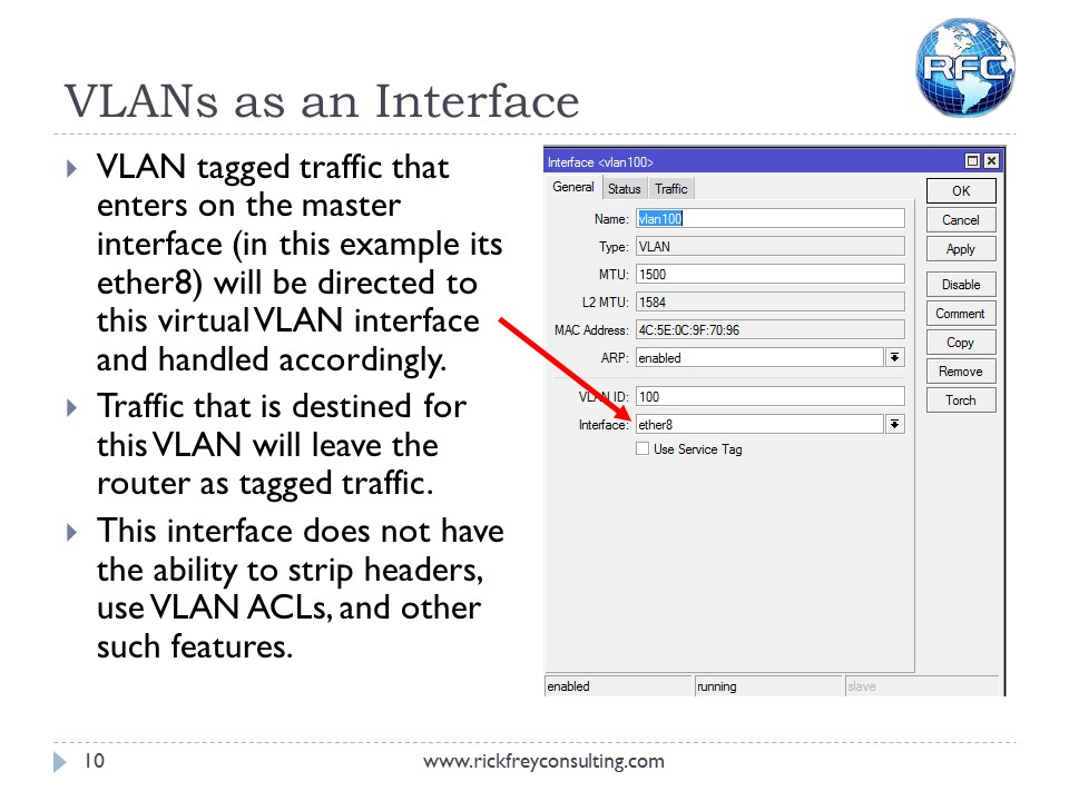 Using VLANs on RouterBOARDs (11)