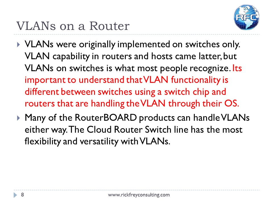 Using VLANs on RouterBOARDs (9)