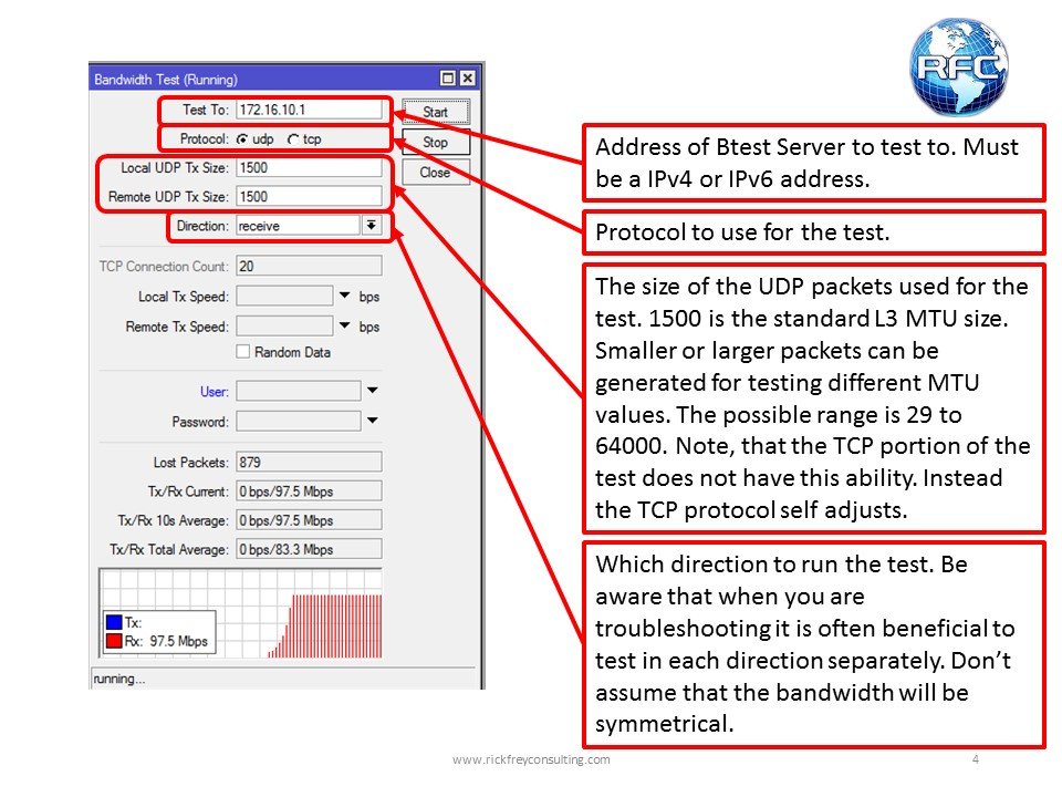 Btest Server & Bandwidth Test Tools – RFC