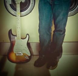laundry guitar