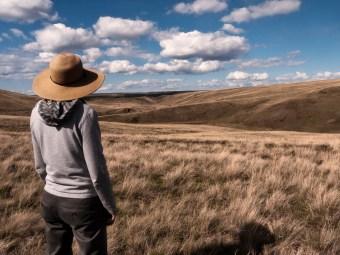 Lee on Zumwalt Prairie