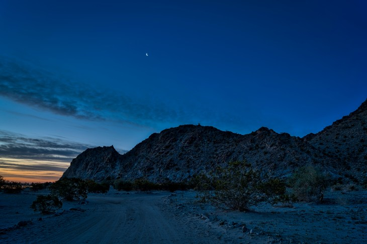moon over cahuilla