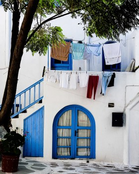 "Mykonos Island, Greece. Winner of ""Superb Composition"" Peer Award on international website ViewBug."