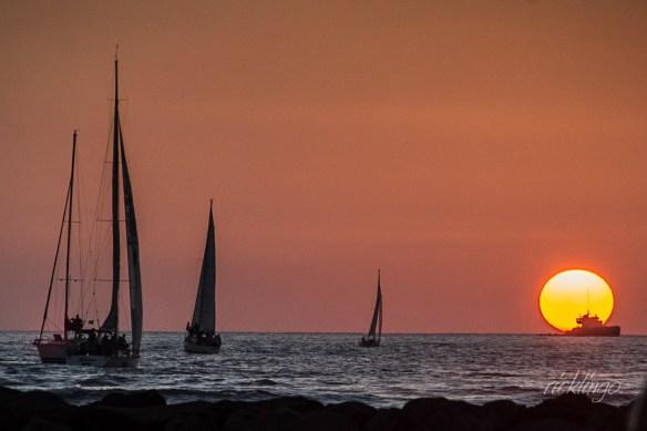 "Off Waikiki Beach, Honolulu, Hawaii. Judges' Commendation in ""All Things Nautical"" contest on international website ViewBug."