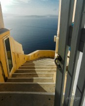 "Santorini, Greece. 2nd place award in the ""Inside Looking Out"" challenge on the international website Pixoto."