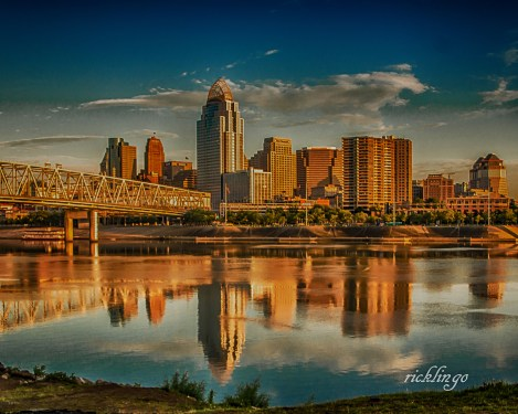 "Cincinnati, Ohio. 2nd place in ""Reflections"" challenge on international website Pixoto. Winner of 8 Peer Awards on international website ViewBug."