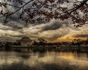 "Jefferson Memorial, Washington, DC. Winner of ""Outstanding Creativity"" Peer Award on website ViewBug."