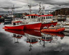 "Stykklisholmur, Iceland. 1st place for the day in ""Transportation"" on the international website Pixoto. 4th in ""Commercial Boats"" contest on Pixoto. Judge's Commendation in ""Selective Color"" contest on Photocrowd."
