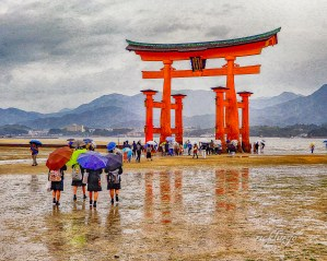 "Miyashima, Japan. 9th place for the week in ""Digital Art"" on the international website Pixoto."