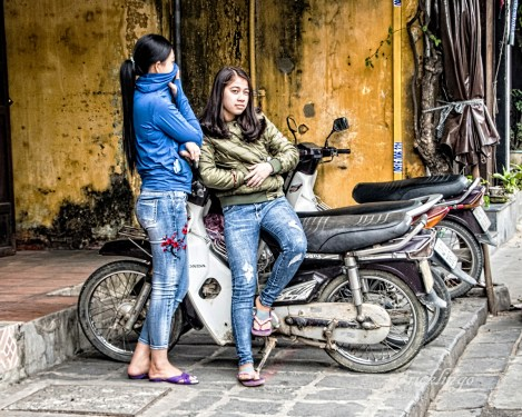 """Vietnam. 10th place for the day in """"People"""" category on international website Pixoto."""