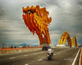 "Da Nang, Vietnam. 5th place in ""Buildings and Architecture"" on international website Pixoto."