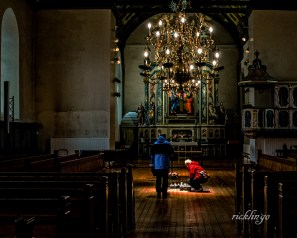 "Church of Our Lady, Trondheim, Norway. 3rd place for the day in ""People"" on international website Pixoto."