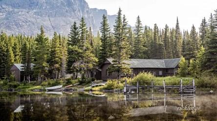 Swiftcurrent Lake, Glacier National Park, Montana.
