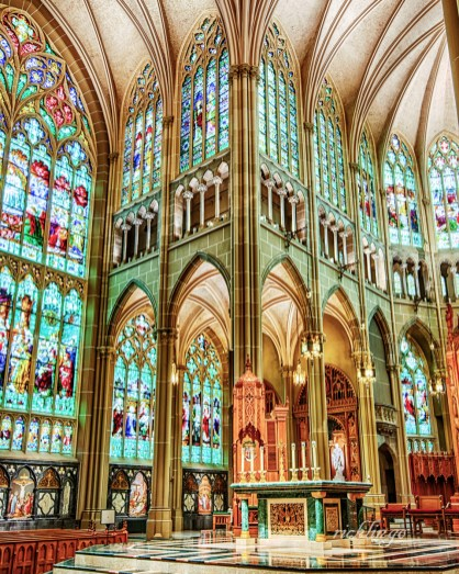 Cathedral Basilica of the Assumption, Covington, Kentucky.
