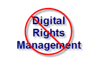 No DRM or Digital Rights Management