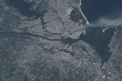 Released to Public: World Trade Center on 9/11 by International Space Station Crew (NASA) by PingNews