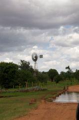 Windmill in Nkungi village