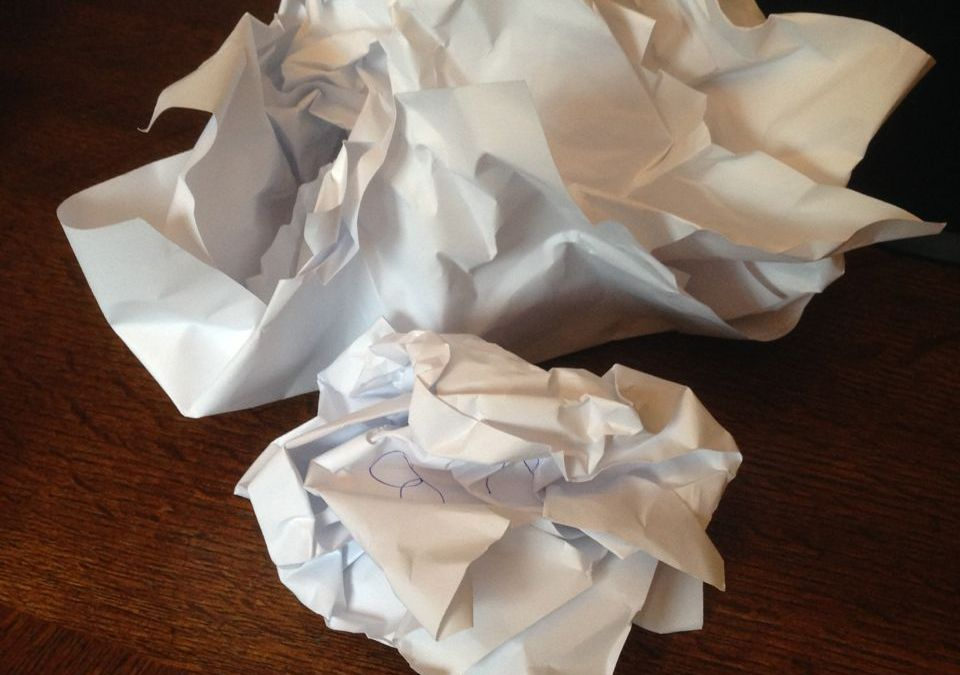 Taking a Five-Year-Old's Advice: Starting my Own Crumple Pile