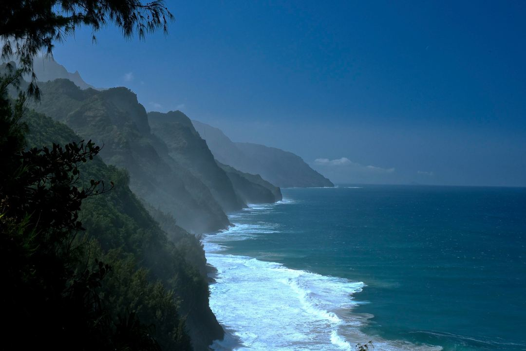The Napali Coast