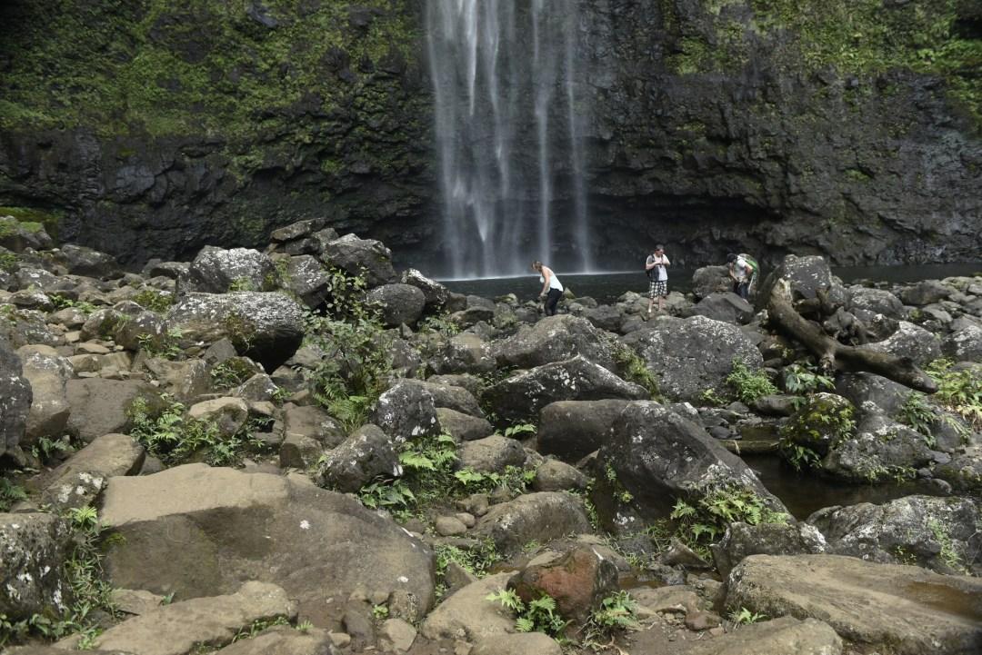 Hanakapiai Falls base