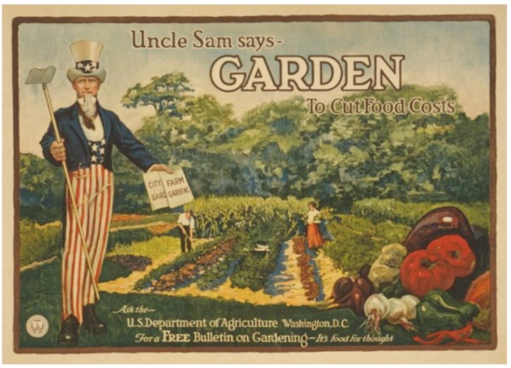 Grandpa Harry and The Victory Garden